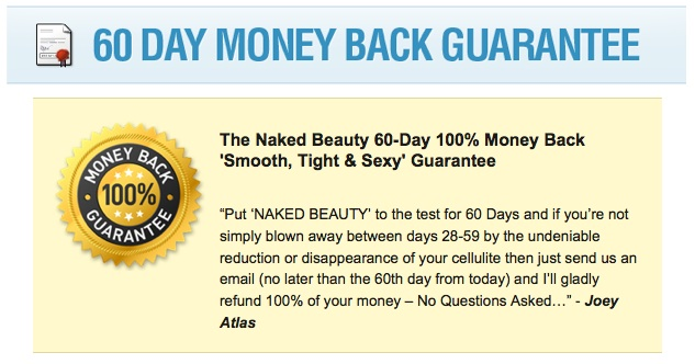 Sexy Results 60 Day Money Back Guarantee